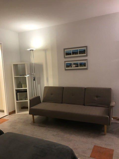 01 -d -Appartement -1.5- chambres- Fortuna- 220- Coin -canapé -Loèche-les-bains- appartement -de- vacances- à -louer