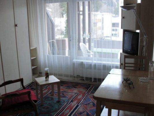 03 -a- 1.5 -Zimmer-Wohnung- Mayenzett -25- Wohnbereich- Leukerbad- Ferienwohnung- zu -vermieten