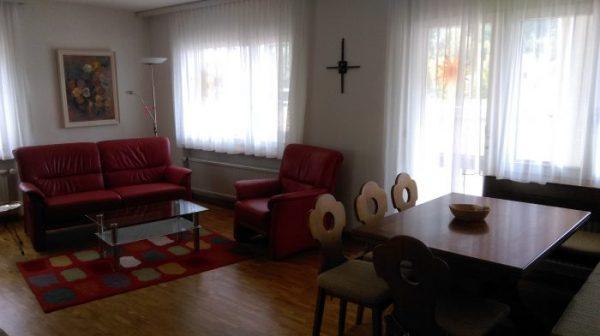 10- d- 2.5 -Zimmer-Wohnung -Royal -50- Wohnstube- Leukerbad -Ferienwohnung- zu -vermieten