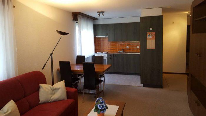 13a -c -Appartement- 2.5- chambres -Lorée- 201- Coin -mangé- Loèche-les-bains -appartement- de -vacances- à- louer