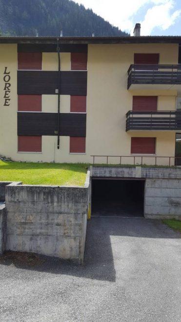 13a -j -2.5- Zimmer-Wohnung- Lorée- 201- Zugang- Garage -Leukerbad -Ferienwohnung- zu -vermieten
