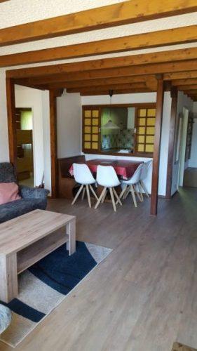 20- m- 2.5- Zimmer-Wohnung- Clabina -31- Essbereich- Leukerbad -Ferienwohnung- zu -vermieten
