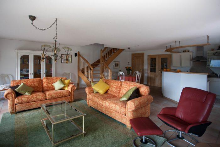 27 -c -4.5- Zimmer -Wohnung-Chalte -KLiben- Wohnstube- Leukerbad- Ferienwohnung -zu- vermieten