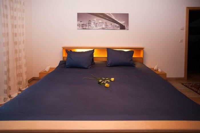 27- i- 4.5 -Zimmer -Wohnung -Chalet -Kliben-Schlafzimmer- Leukerbad- Ferienwohnung -zu -vermieten