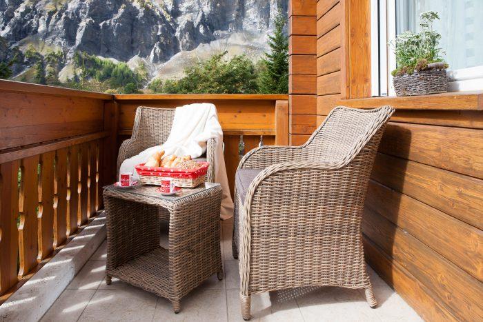 27 -q -4.5 -Zimmer- Wohnung- Chalet- Kliben-Terrasse-Leukerbad -Ferienwohnung- zu -vermieten