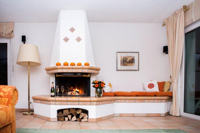 27-s-4.5 Zimmer -Wohnung - Chalet- Kliben- Kamine- Leukerbad- Ferienwohnung- zu- vermieten