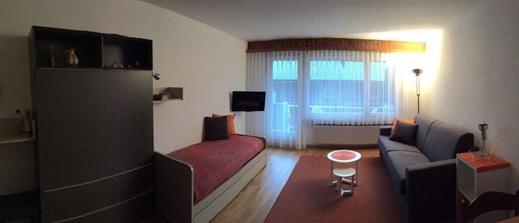 37-c-1-Zimmerwohnung-Leuca-24-Wohnstube-Ferienwohnung-zum Vermieten-Leukerbad