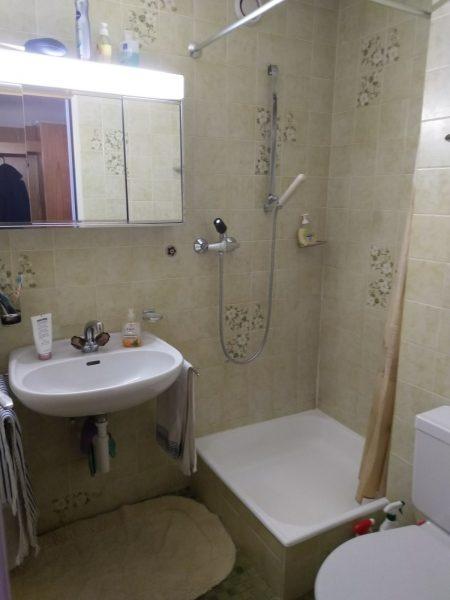 38-f-Appartement-2-chambres-Lärchenwald-salle-de-bain-appartement-pour-des-vacances-à-louer-Loèche-les-bains
